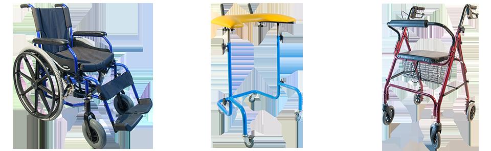 Wózki, balkoniki, chodziki